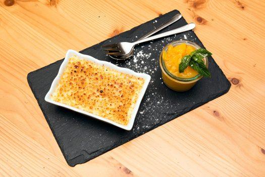 Forsthaus Crème brûlée mit Orange